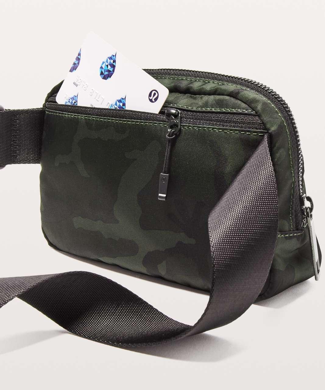 Lululemon Everywhere Belt Bag *1L - Woodland Camo Gator Green Dark Olive / Black