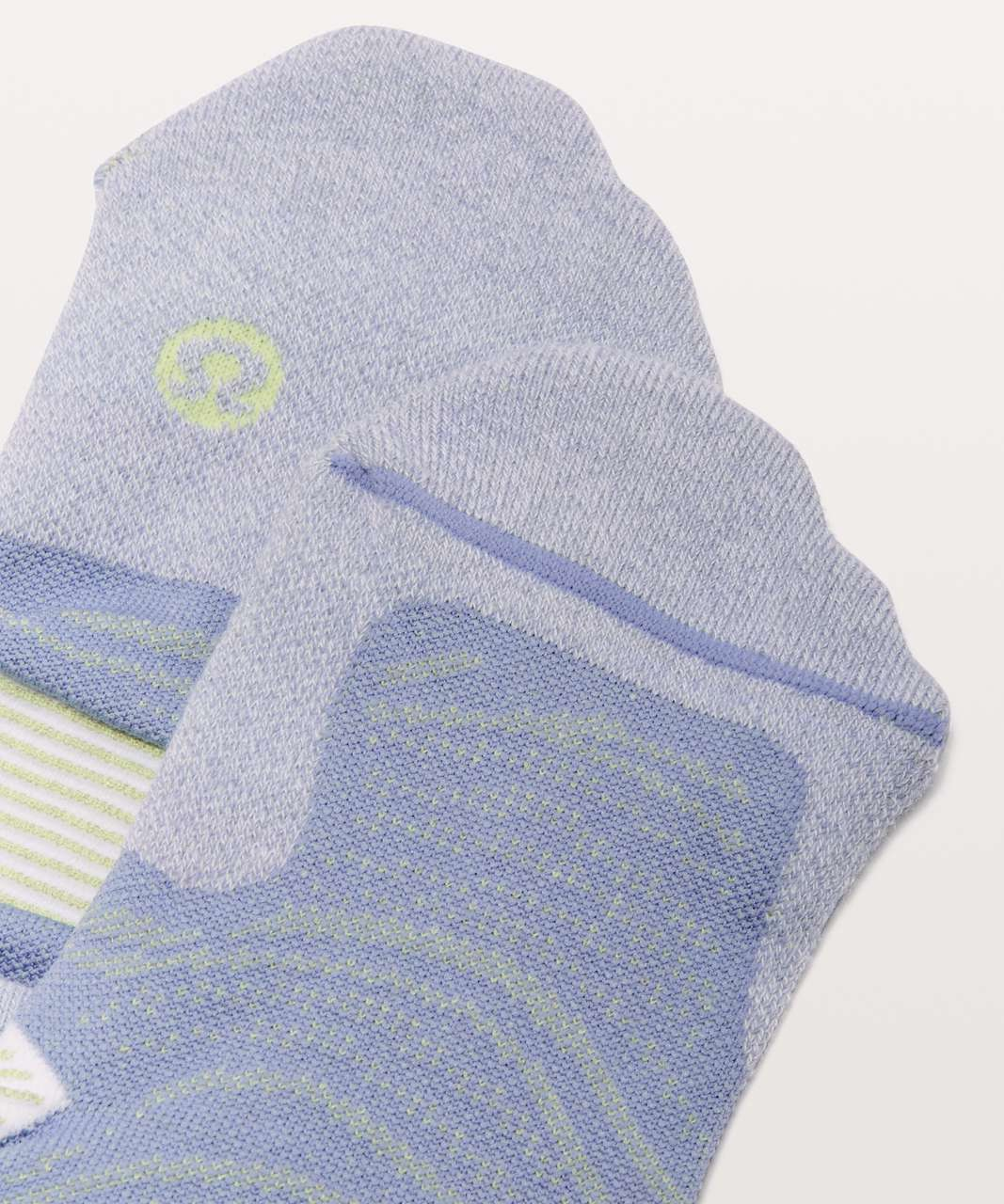 Lululemon Speed Sock *Silver - Iron Purple / Florid Flash