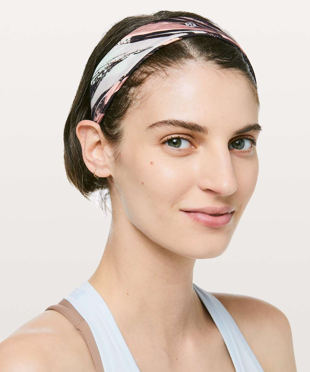 Lululemon Fly Away Tamer Headband II - Colour Splash Multi