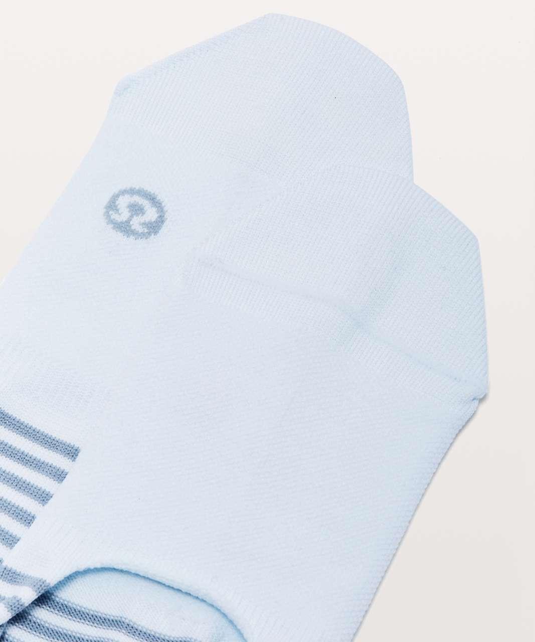 Lululemon Secret Sock - Sheer Blue / Blue Cast
