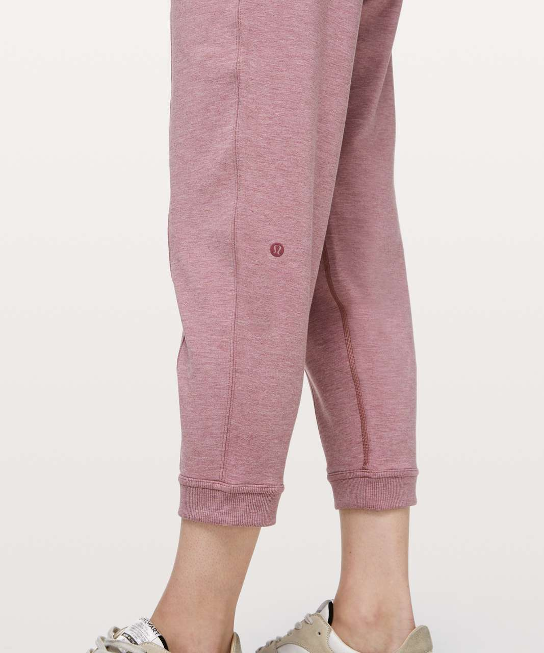 Lululemon At My Leisure Jogger - Heathered Mod Misty Merlot