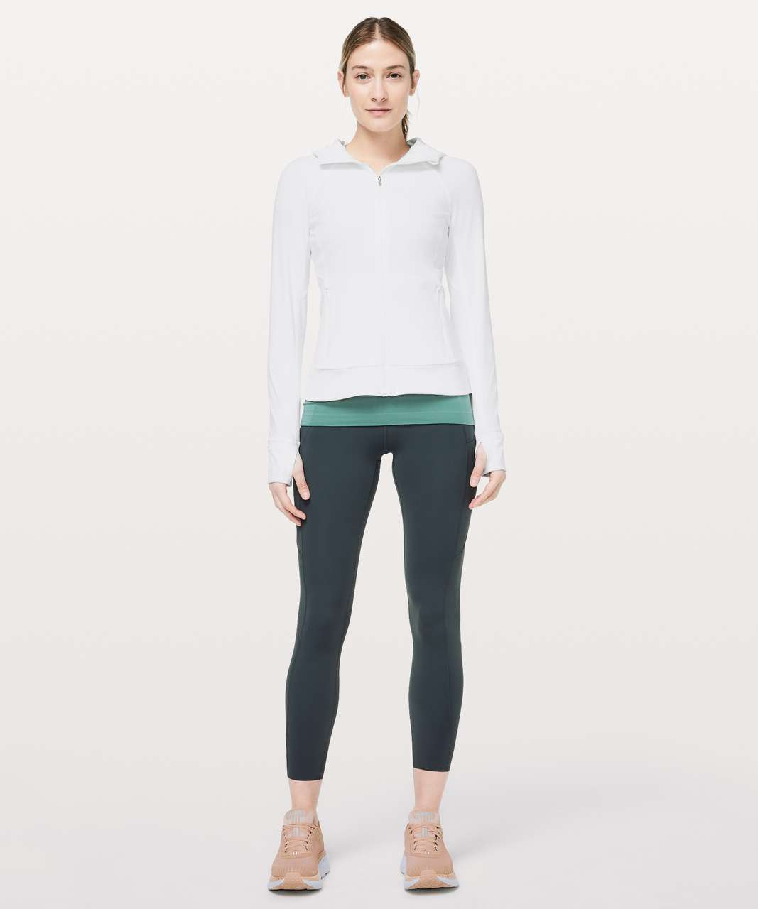 Lululemon Dash Into Dusk Jacket - White