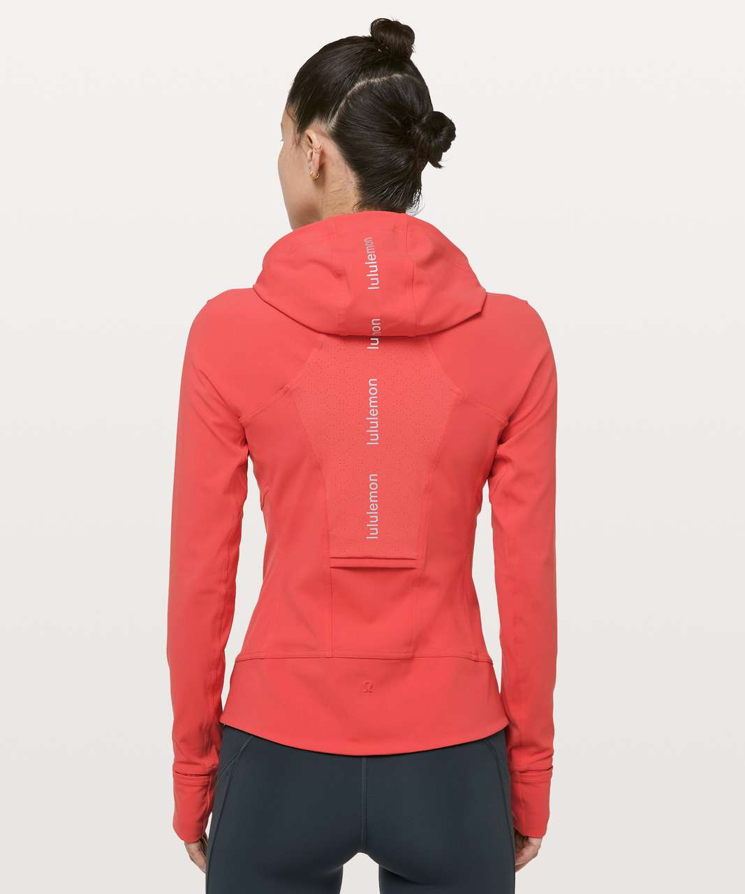 Lululemon Dash Into Dusk Jacket - Poppy Coral