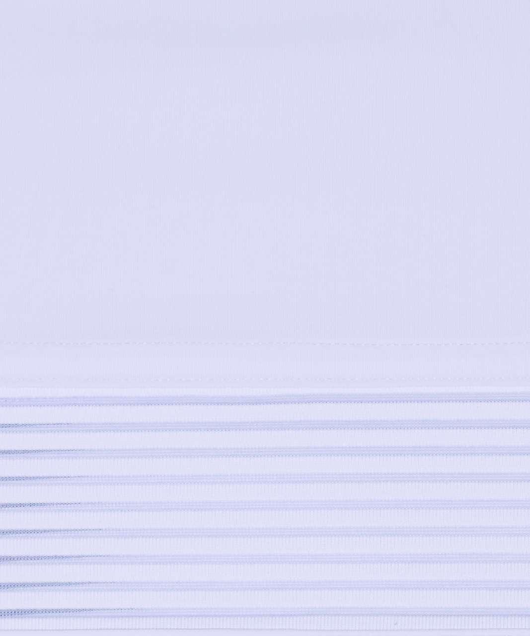 Lululemon Stripe In Stride Long Sleeve - Serene Blue