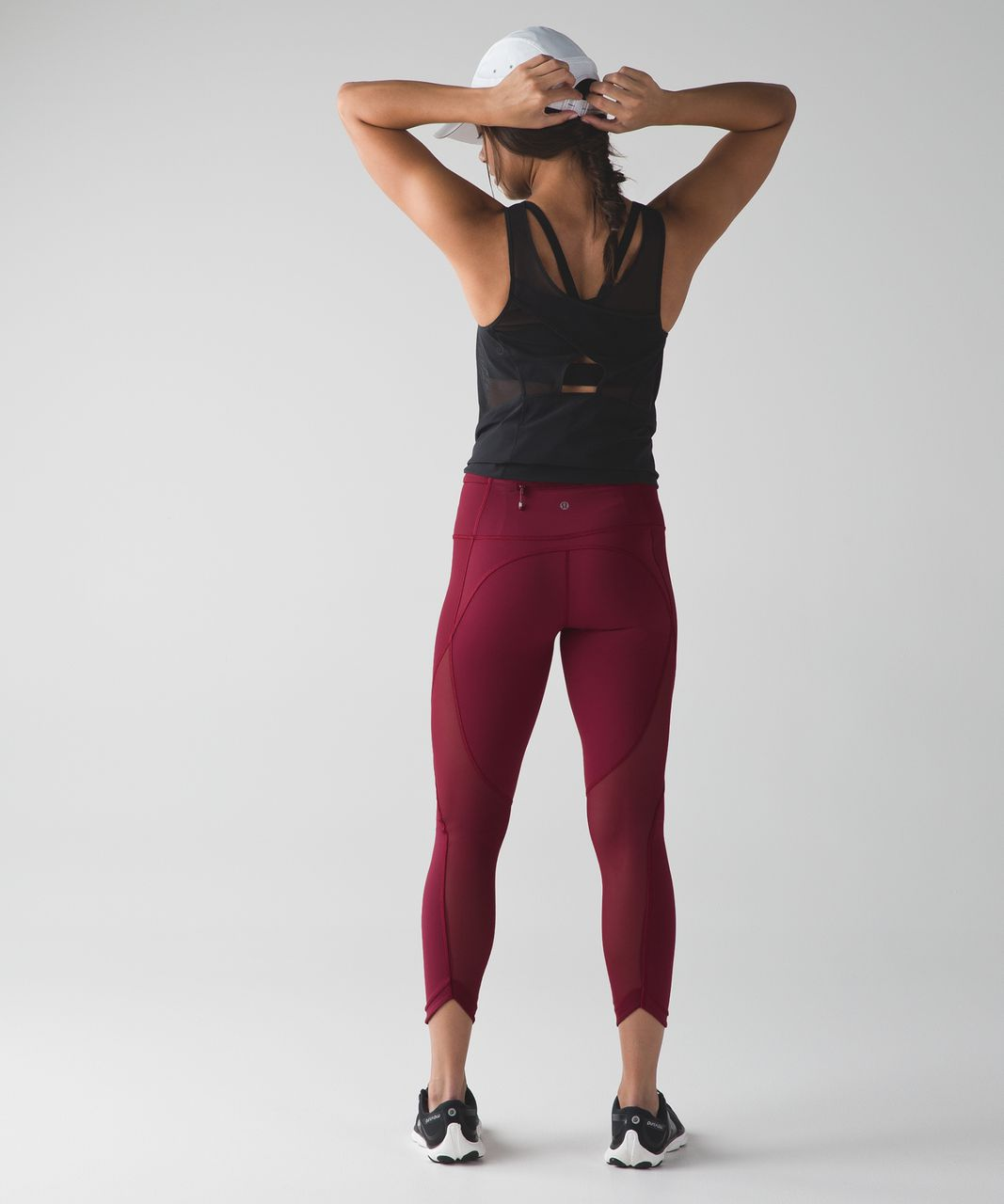 Lululemon Run With The Sun Tight - Rosewood