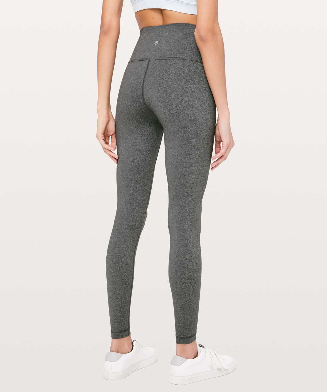 "Lululemon Wunder Under High-Rise Tight *Luxtreme 28"" - Heathered Black"