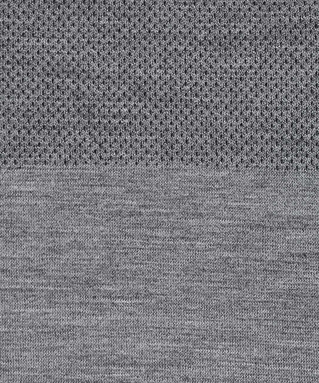 Lululemon Aerial Silk Long Sleeve - Black / White
