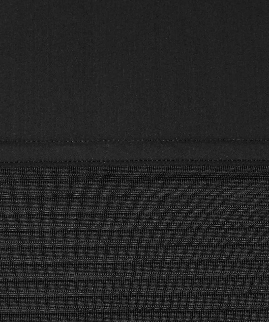 Lululemon Stripe In Stride Short Sleeve - Black