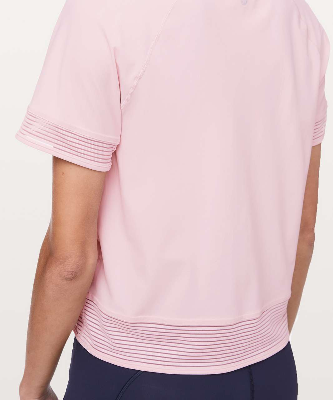 Lululemon Stripe In Stride Short Sleeve - Petals