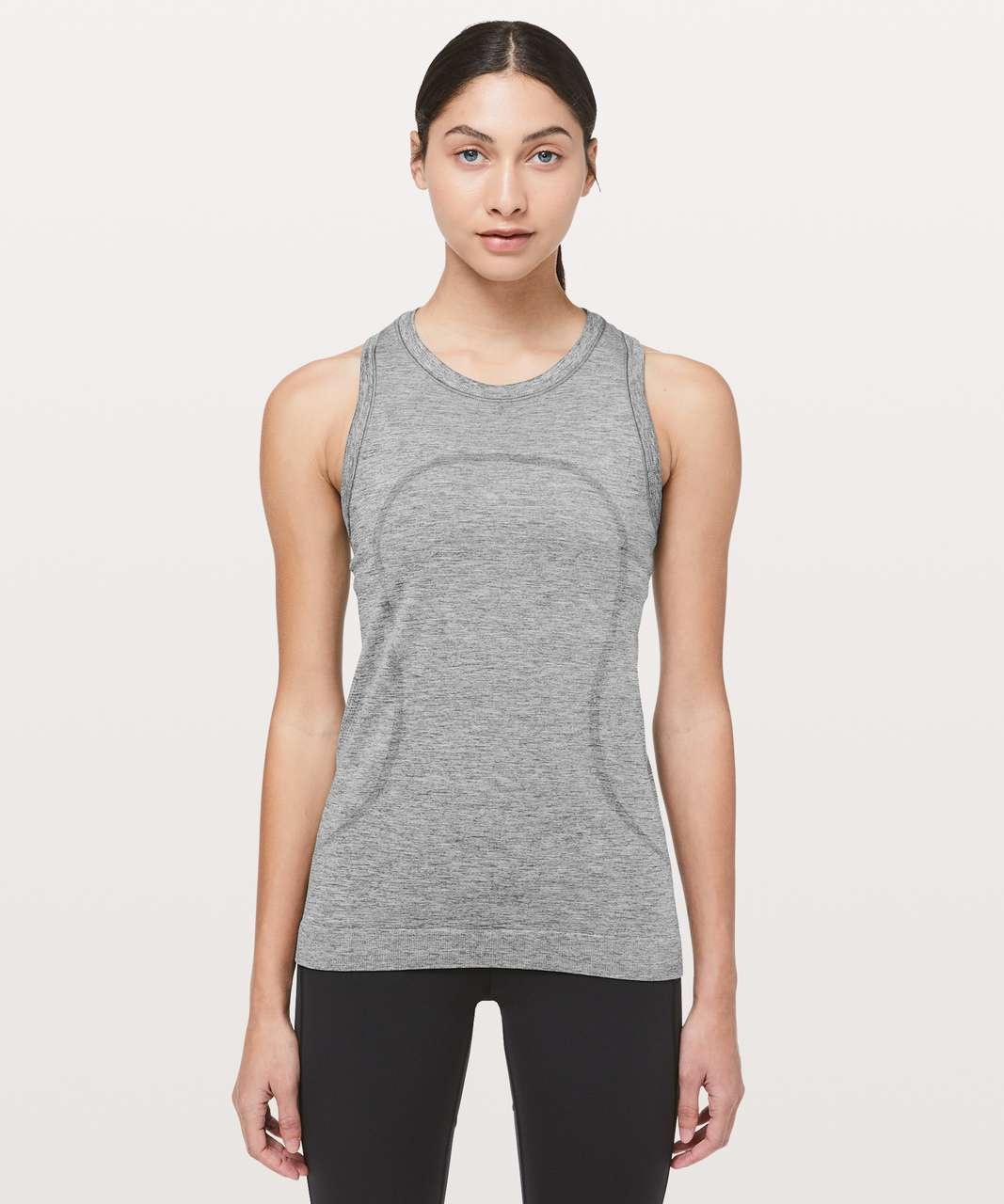 Lululemon Swiftly Breeze Tank - Slate / White