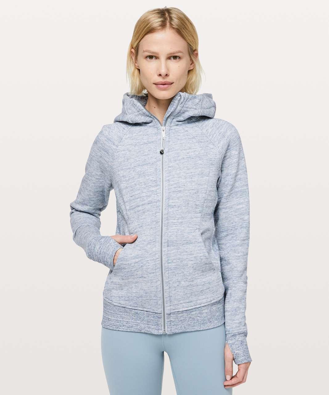 Lululemon Scuba Hoodie *Light Cotton Fleece - Heathered Space Dyed Nimbus
