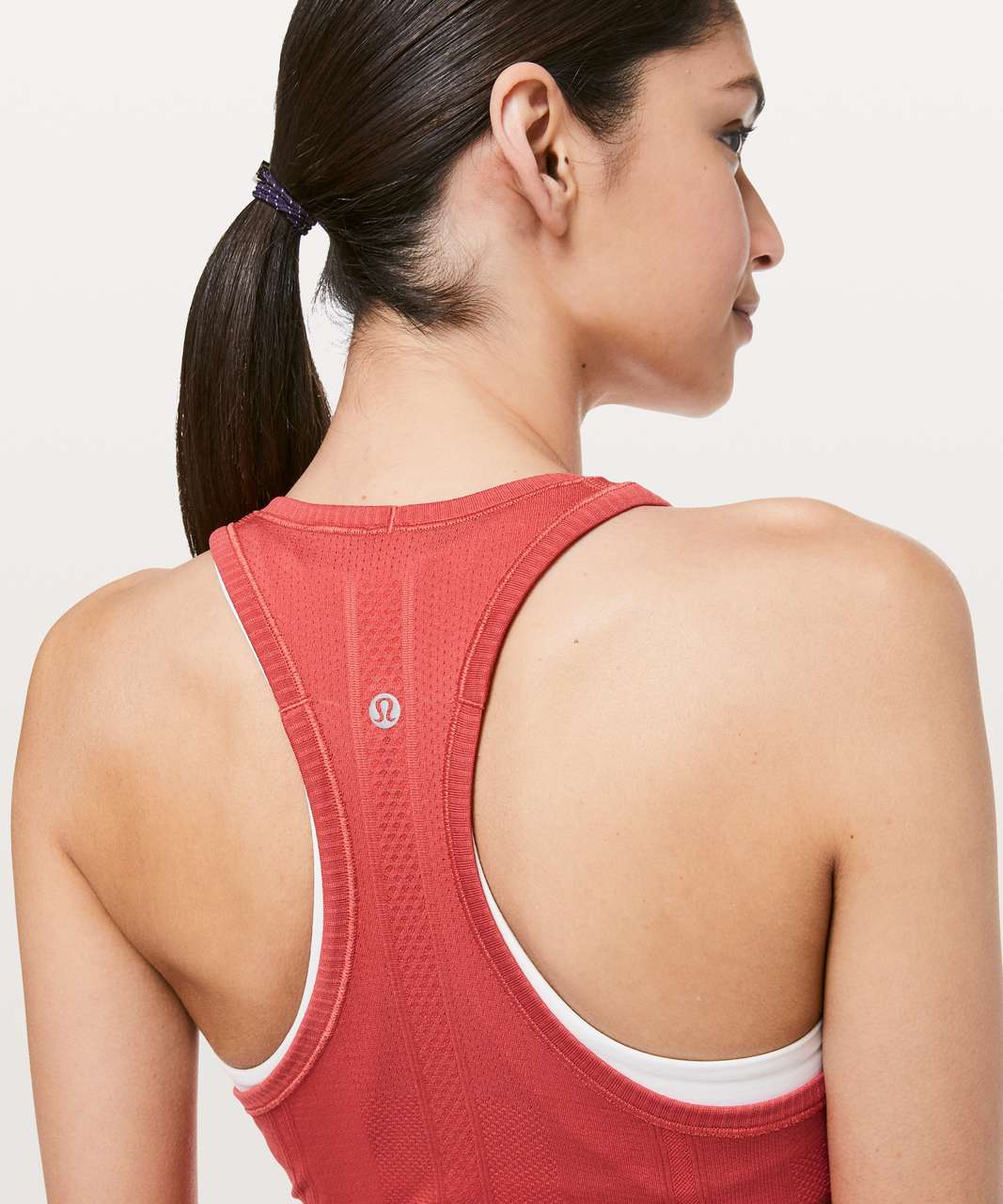 Lululemon Swiftly Tech Racerback - Poppy Coral / Poppy Coral
