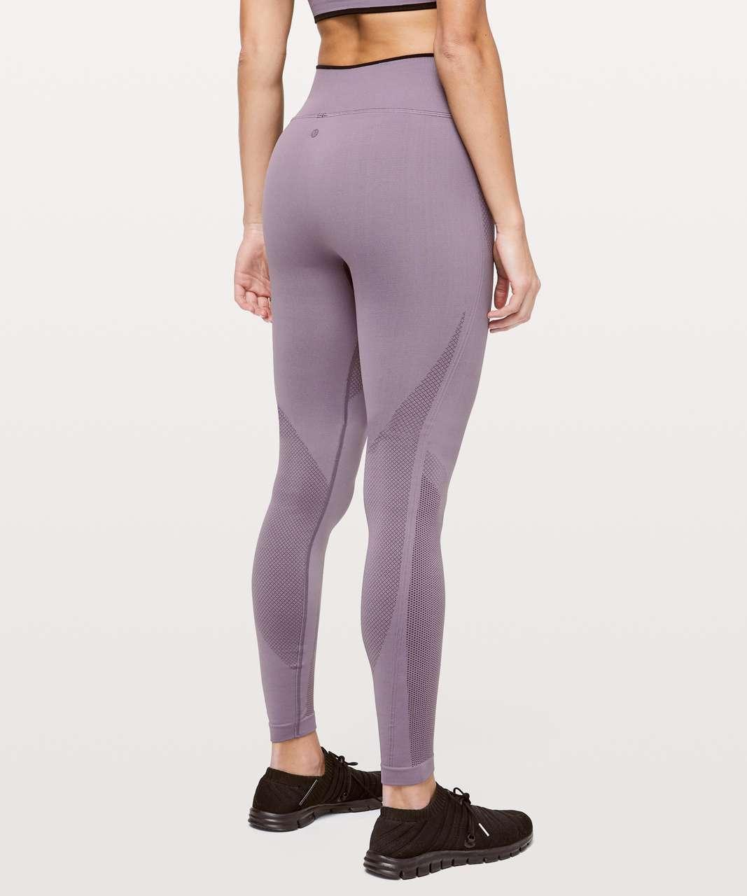 Damenmode Leggings Purple Inky Waters Yoga Leggings