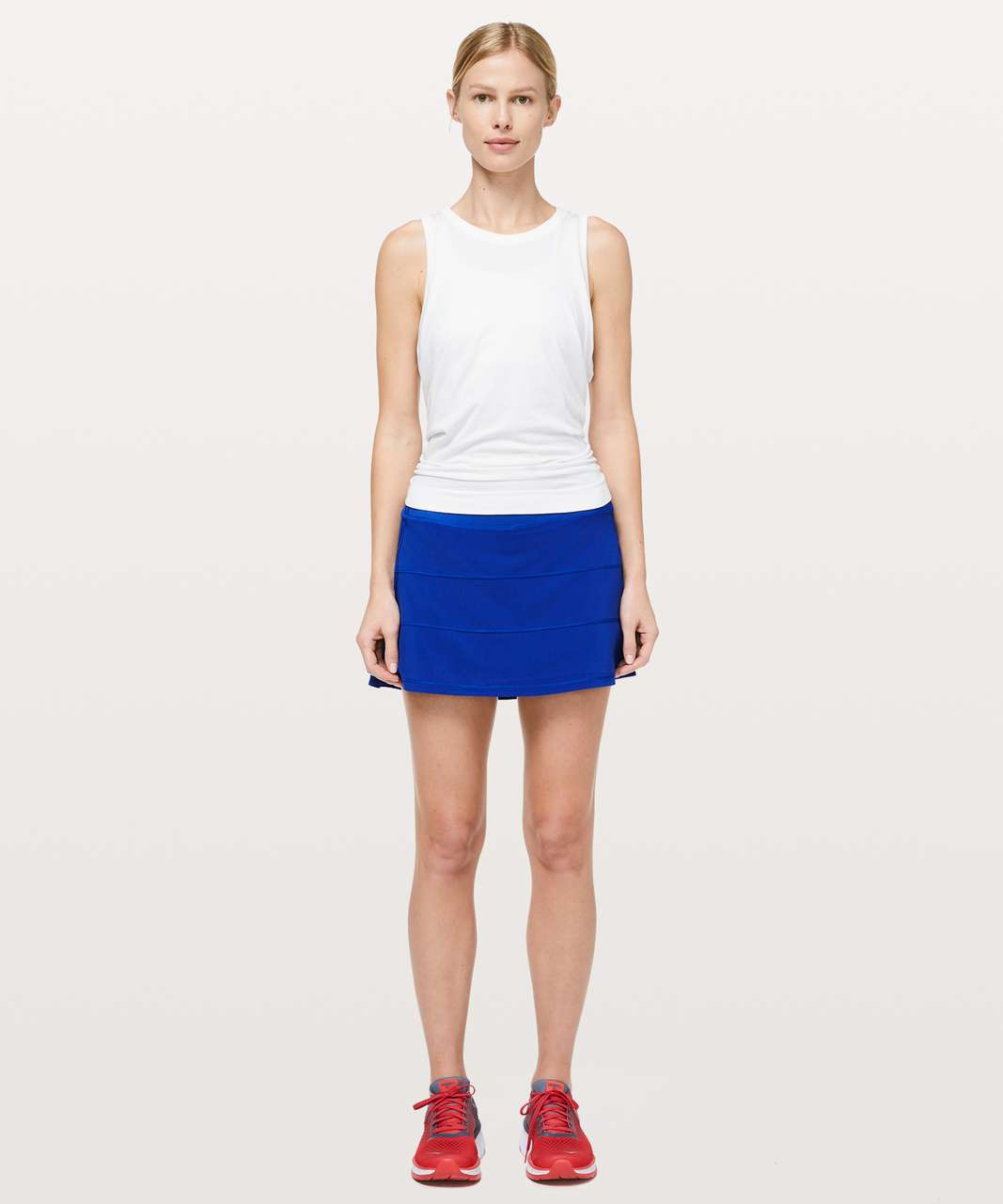 """Lululemon Pace Rival Skirt (Tall) *4-way Stretch 15"""" - Jet Stream (First Release)"""