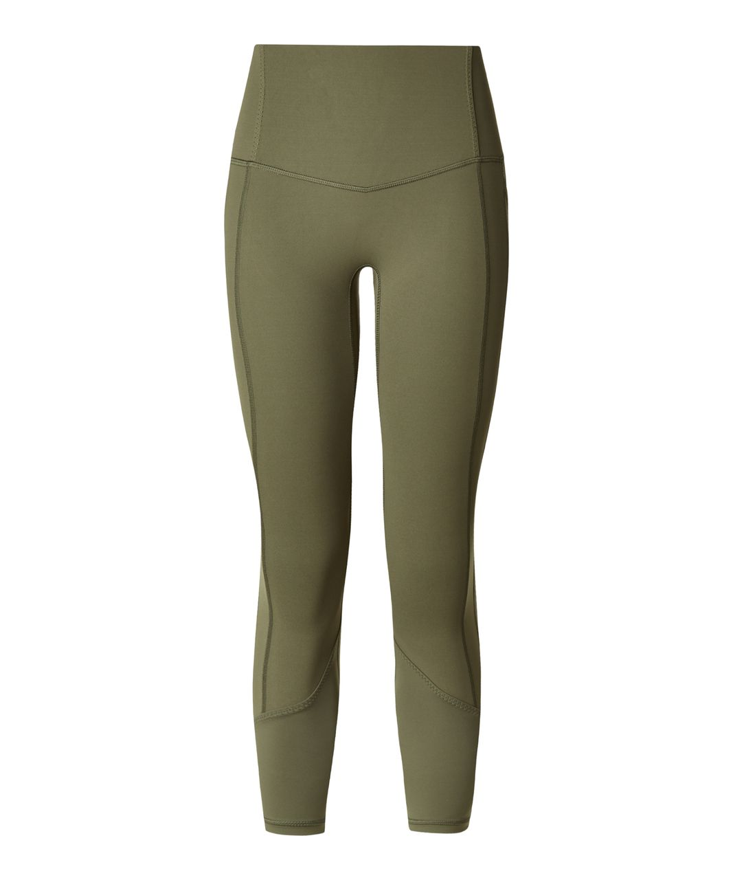 Lululemon All The Right Places Crop - Fatigue Green