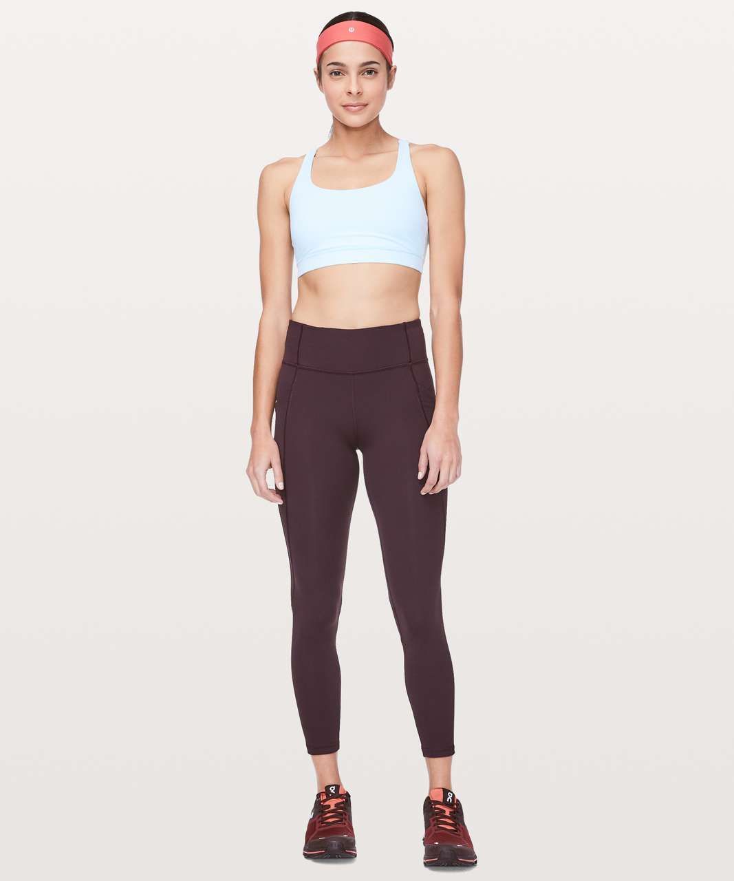 Lululemon Energy Bra - Sheer Blue