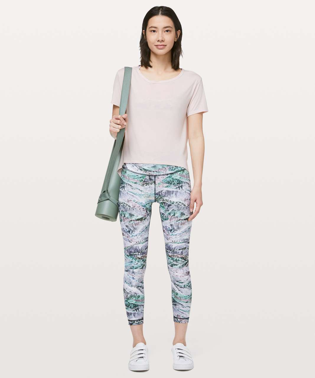 "Lululemon Wunder Under High-Rise Tight 25"" *Full-On Luxtreme - Springscape Multi"
