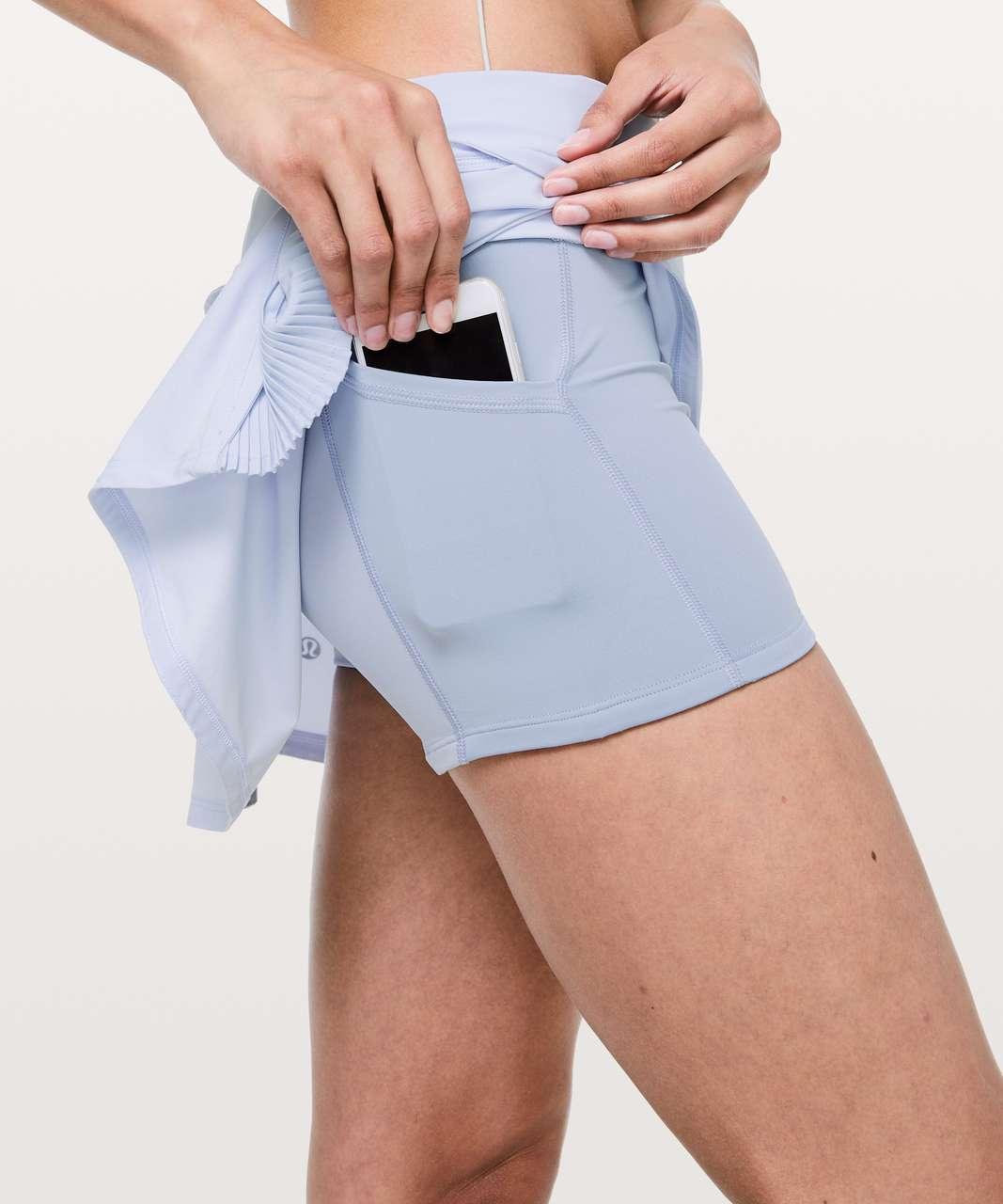 "Lululemon Play Off The Pleats Skirt *13"" - Serene Blue"