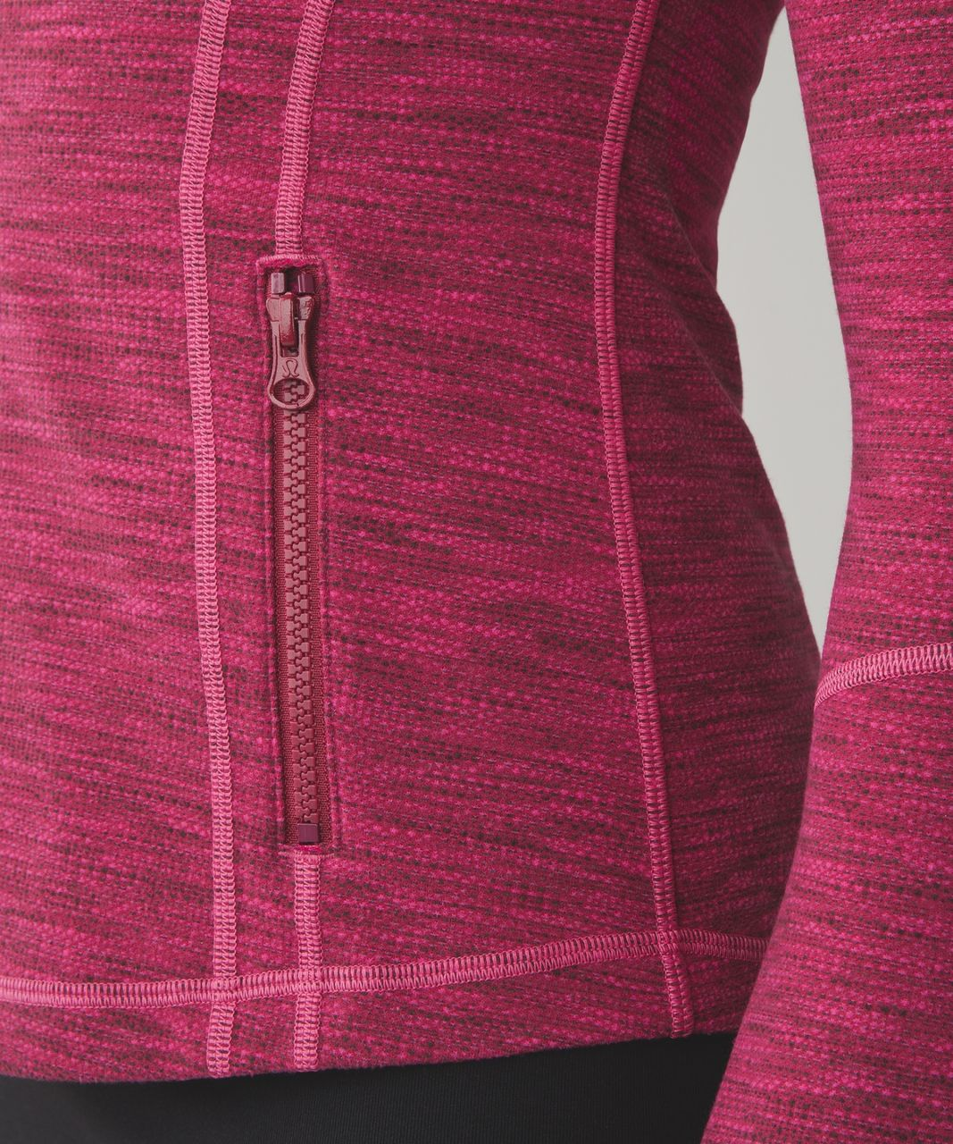 Lululemon Define Jacket - Diamond Jacquard Berry Rumble Jewelled Magenta