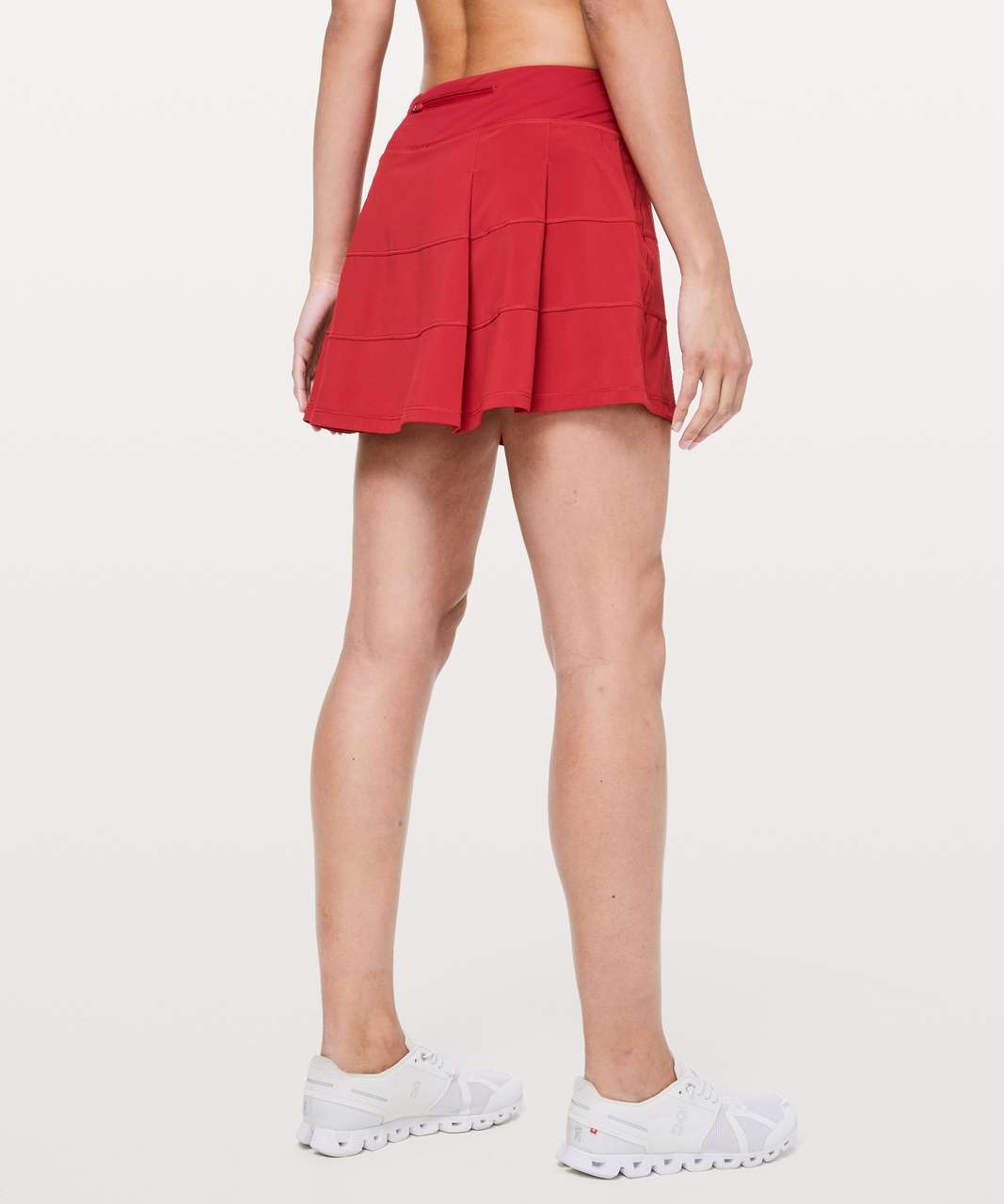 """Lululemon Pace Rival Skirt (Tall) *4-way Stretch 15"""" - Dark Red (First Release)"""