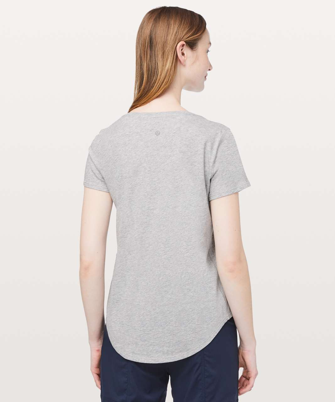 Lululemon Love Tee V - Heathered Core Light Grey (First Release)