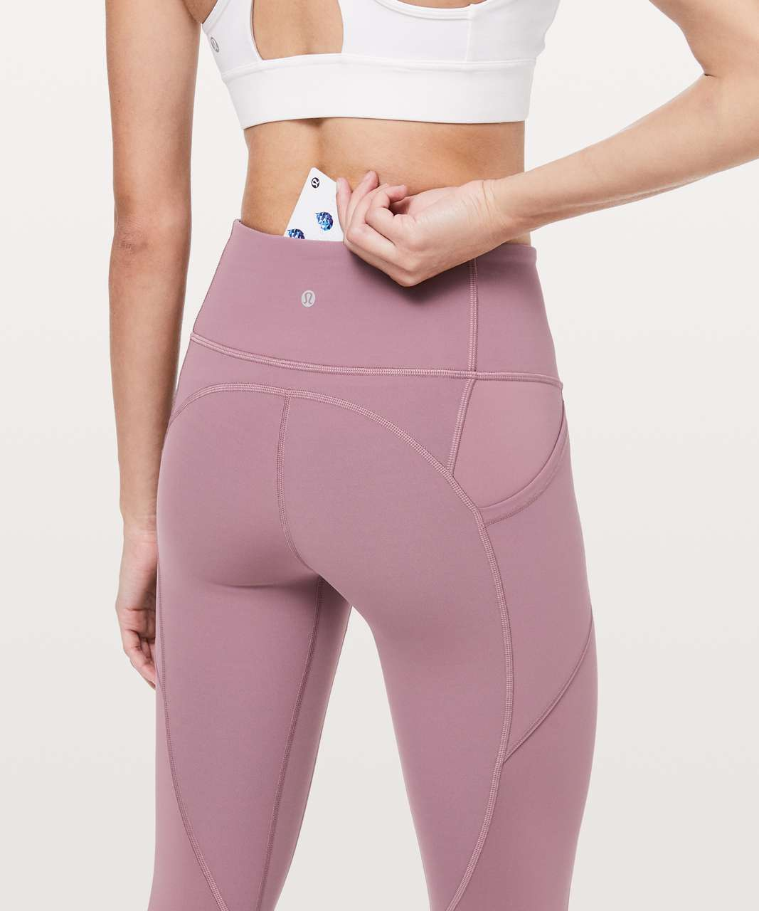 """Lululemon All The Right Places Crop II *23"""" - Figue"""