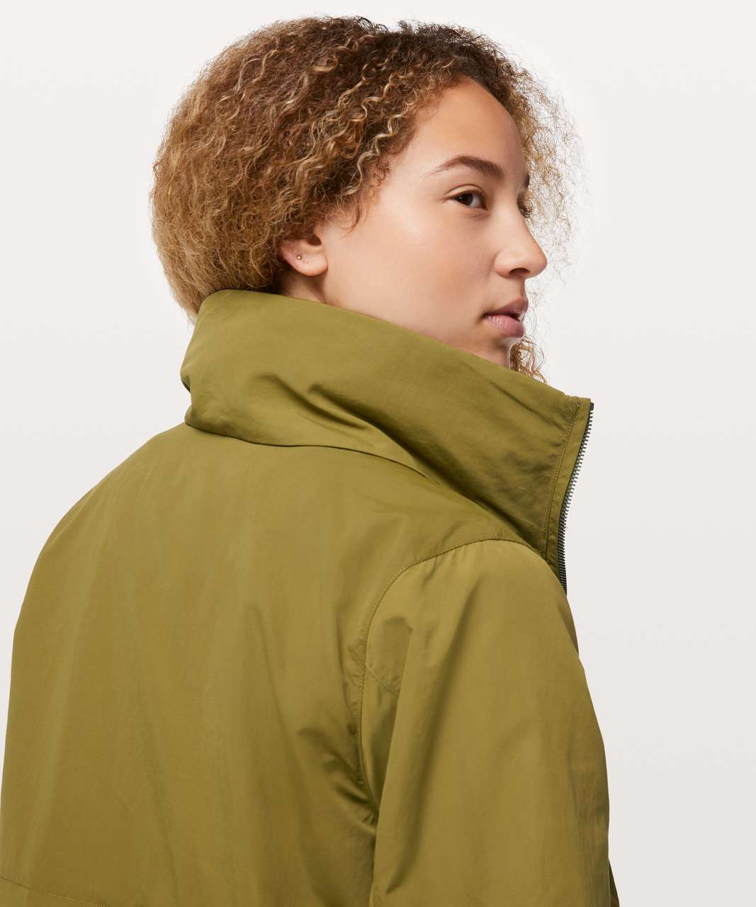 d62df6b07 Lululemon Graced With Lace Jacket - Mossy