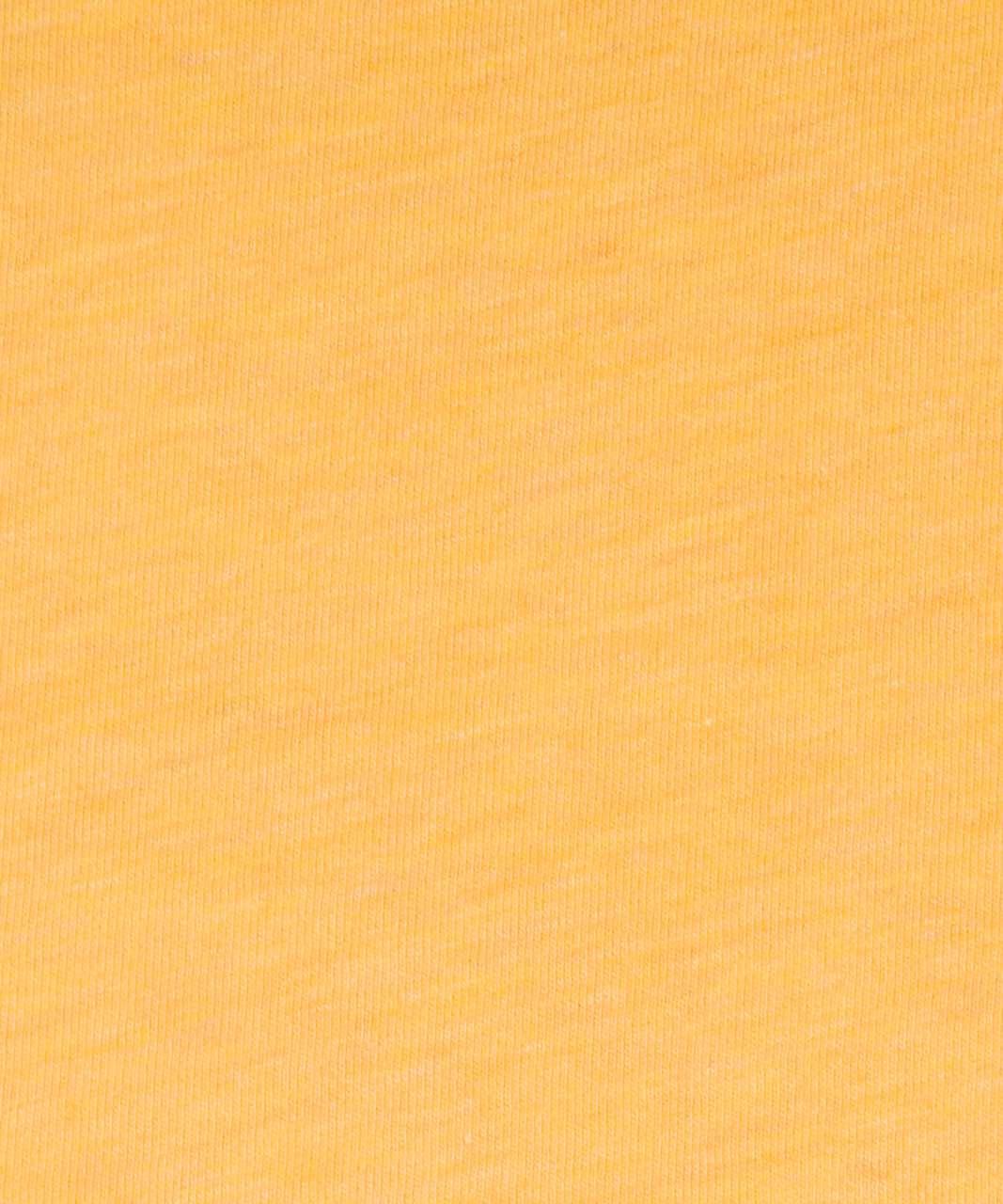 Lululemon Love Tank *Pleated - Heathered Honey Lemon