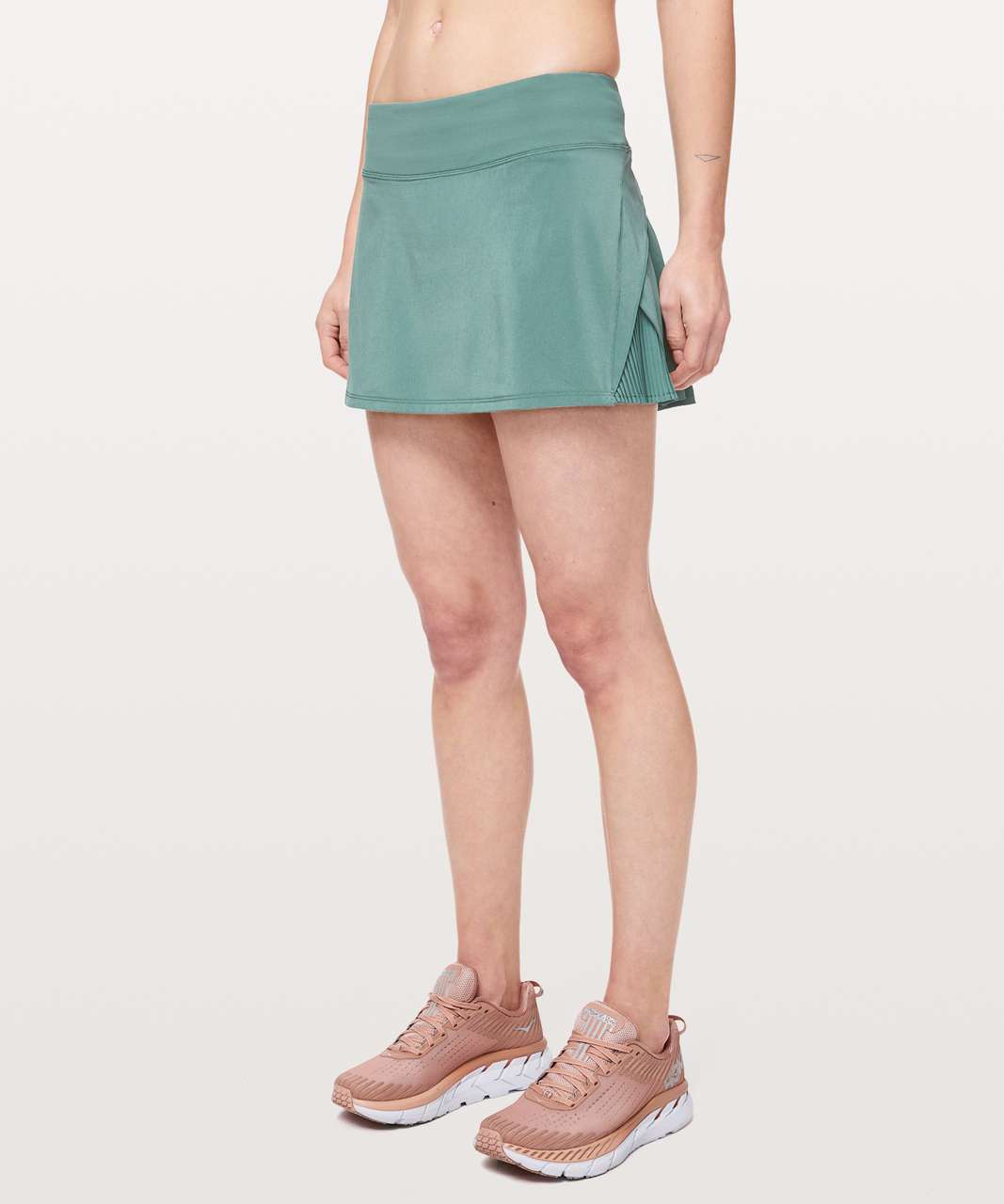 "Lululemon Play Off The Pleats Skirt *13"" - Frosted Pine"