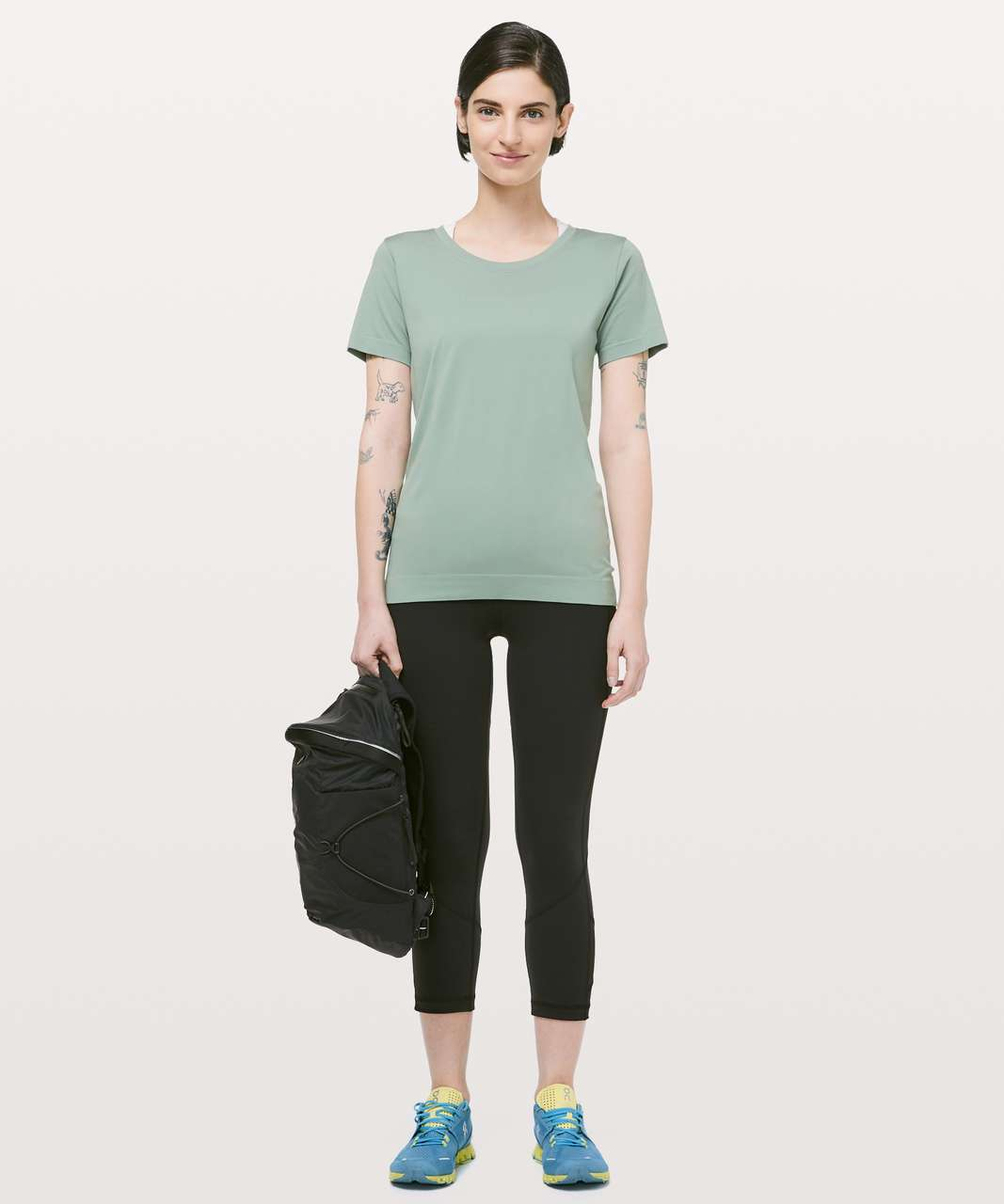 Lululemon Swiftly Tech Short Sleeve (Breeze) *Relaxed Fit - Palm Court / Palm Court
