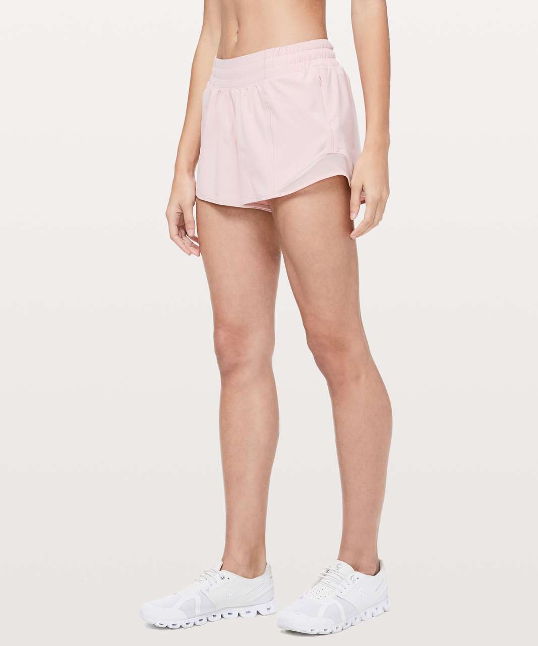 "Lululemon Hotty Hot Short II *Long 4"" - Faint Coral"