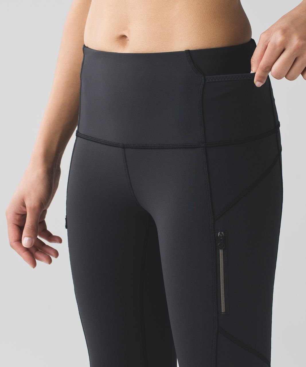 Lululemon Lucent Ice Queen Tight - Black