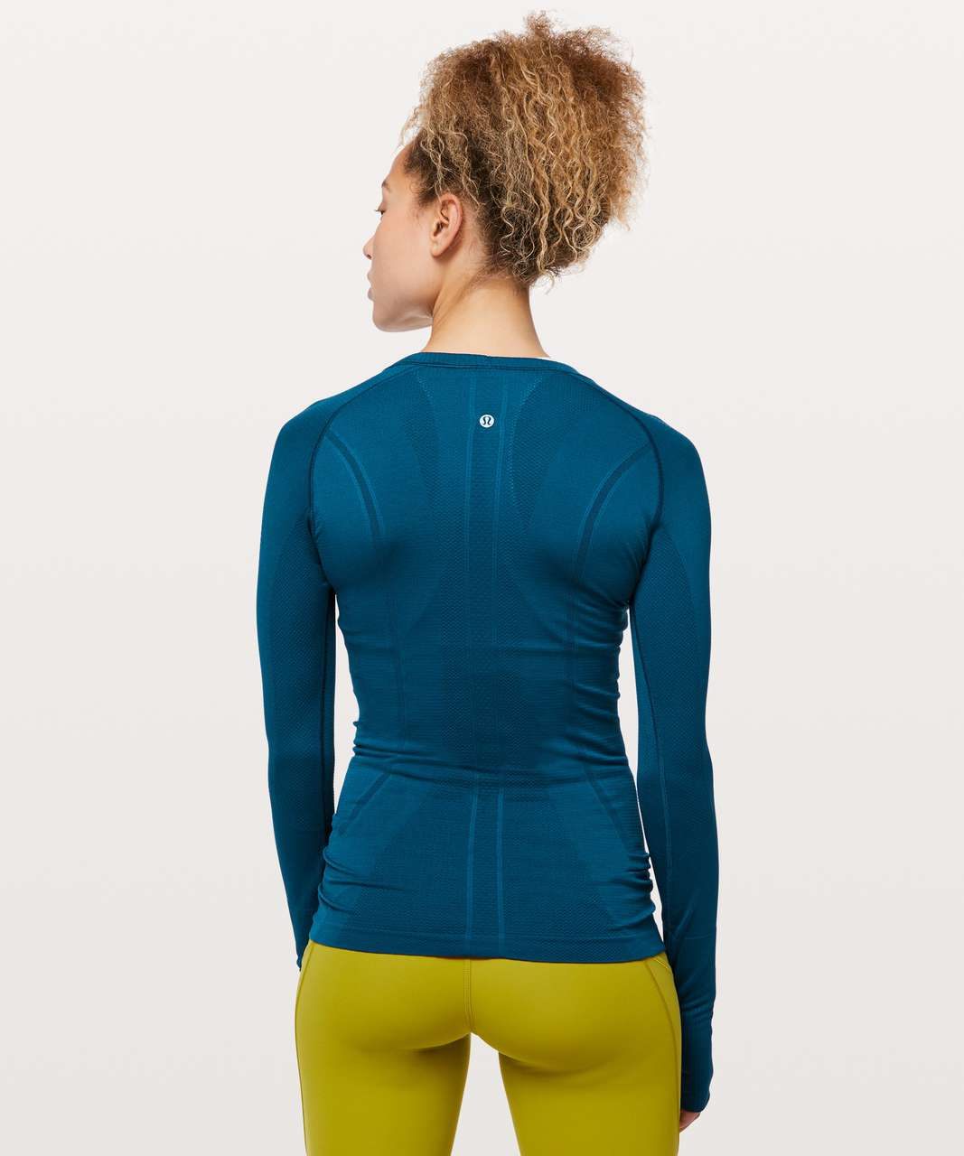 Lululemon Swiftly Tech Long Sleeve Crew - Deep Marine / Deep Marine