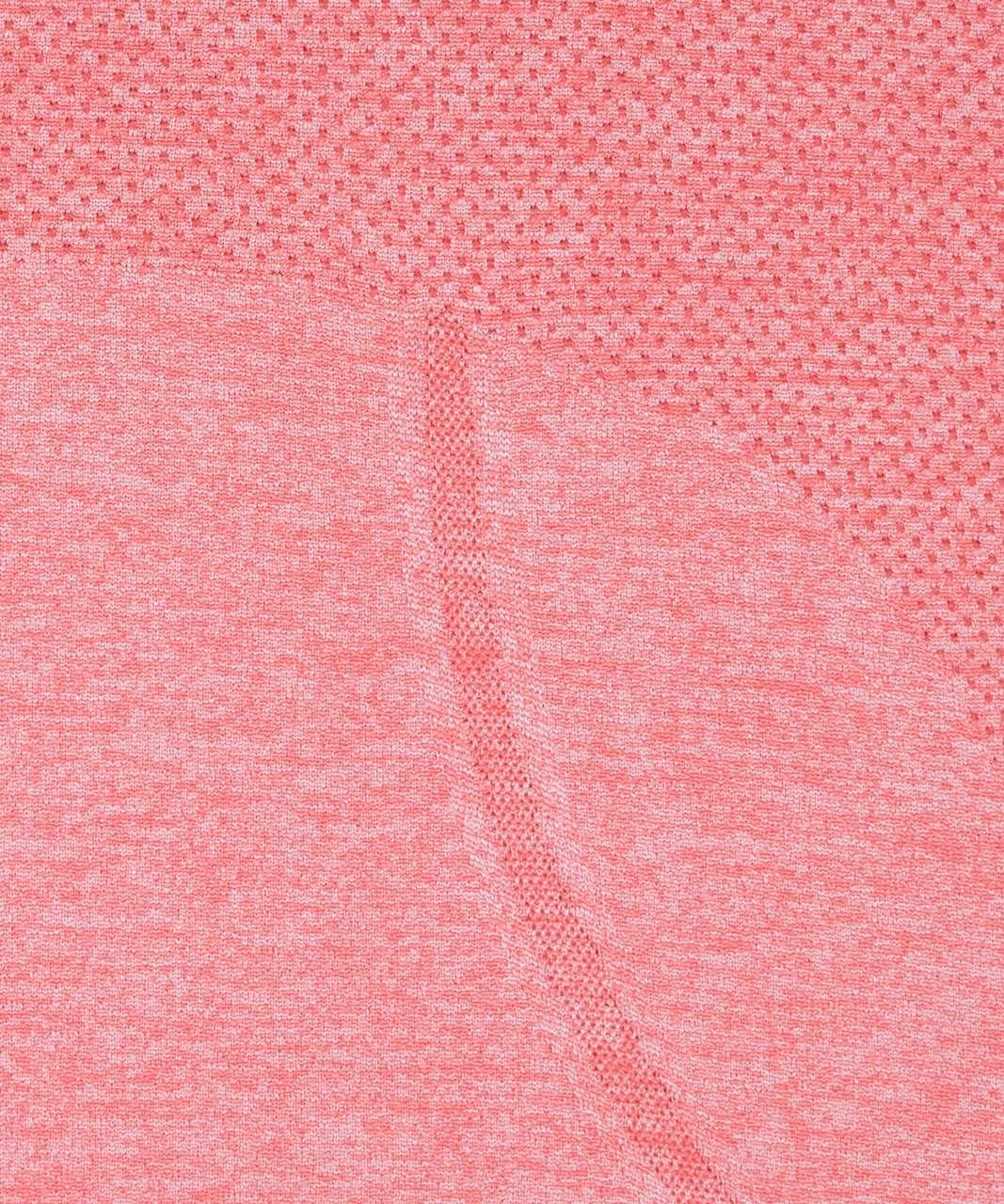 Lululemon Swiftly Tech Long Sleeve Crew - Blush Coral / Faint Coral