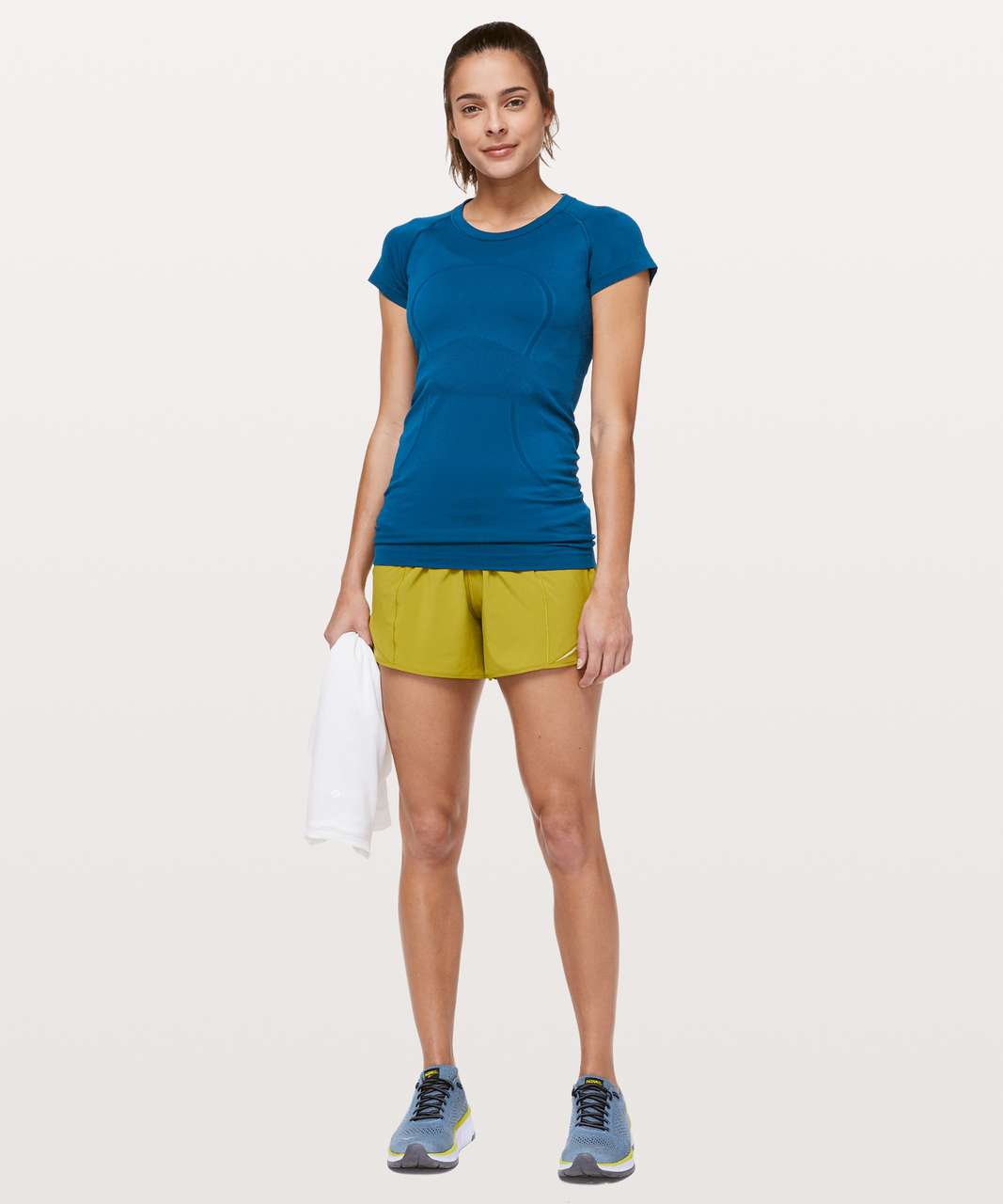 Lululemon Swiftly Tech Short Sleeve Crew - Deep Marine / Deep Marine