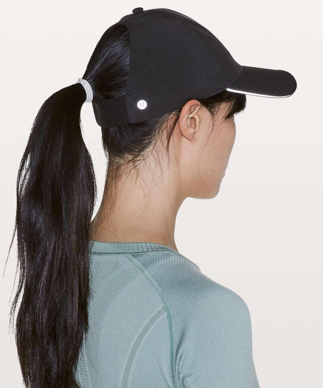 c2217cb0 Lululemon Baller Hat Run *Ponytail - Black (Second Release) - lulu fanatics