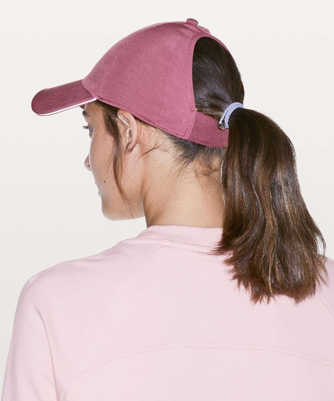 69ca4c18 Lululemon Baller Hat Run *Ponytail - Misty Merlot - lulu fanatics