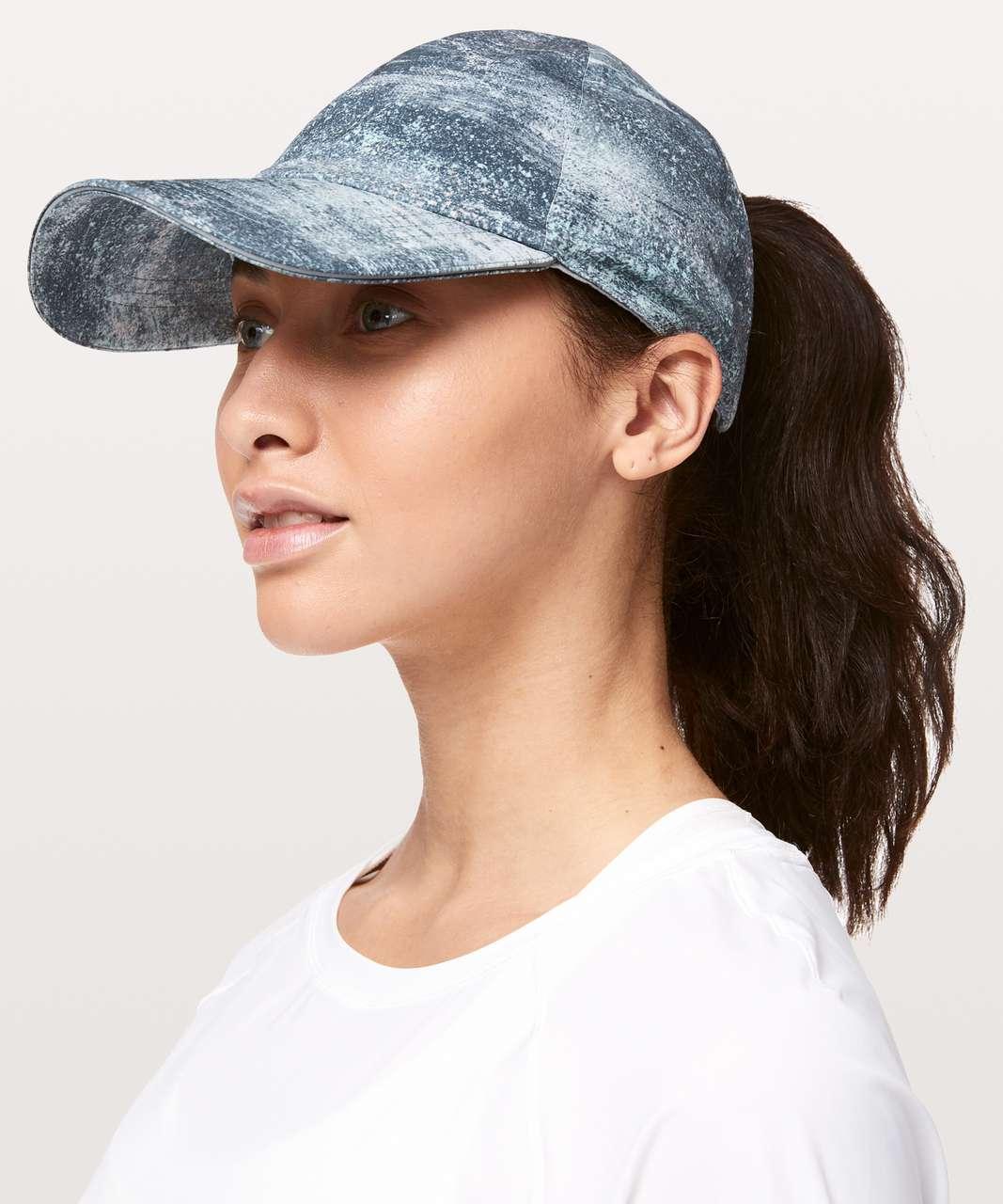 c4f18238 Lululemon Baller Hat Run *Ponytail - Azurite Mint Tint Multi / Blue Cast