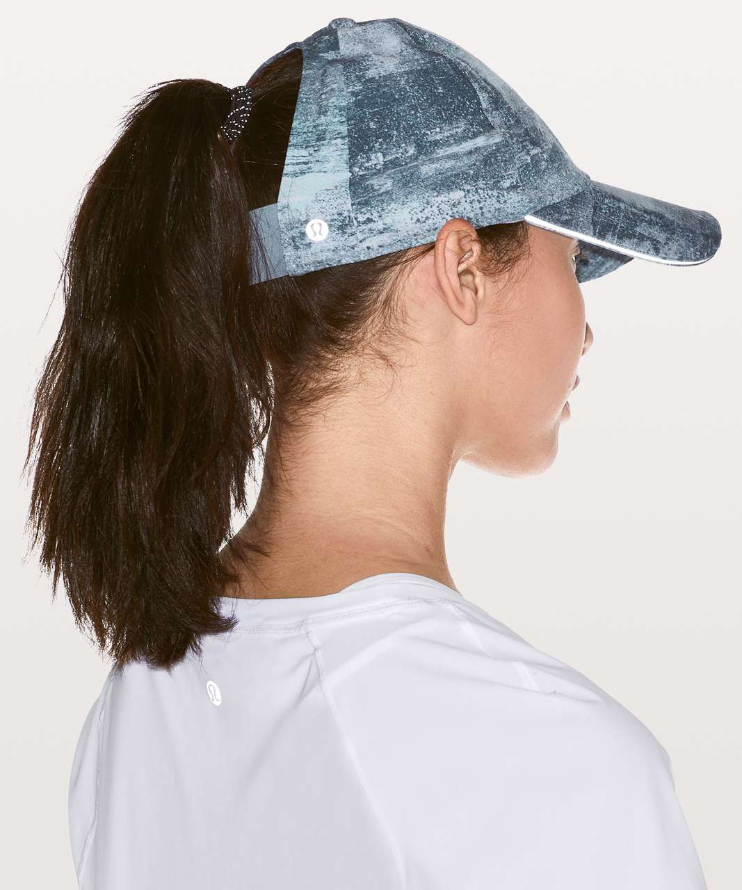 Lululemon Baller Hat Run *Ponytail - Azurite Mint Tint Multi / Blue Cast