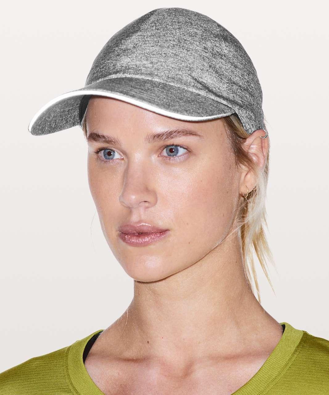 9ba113e2 Lululemon Baller Hat Run *Ponytail - Heather Lux Multi Black / Black ...
