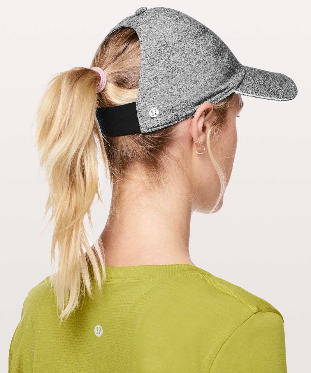 35f4d823 Lululemon Baller Hat Run *Ponytail - Heather Lux Multi Black / Black - lulu  fanatics