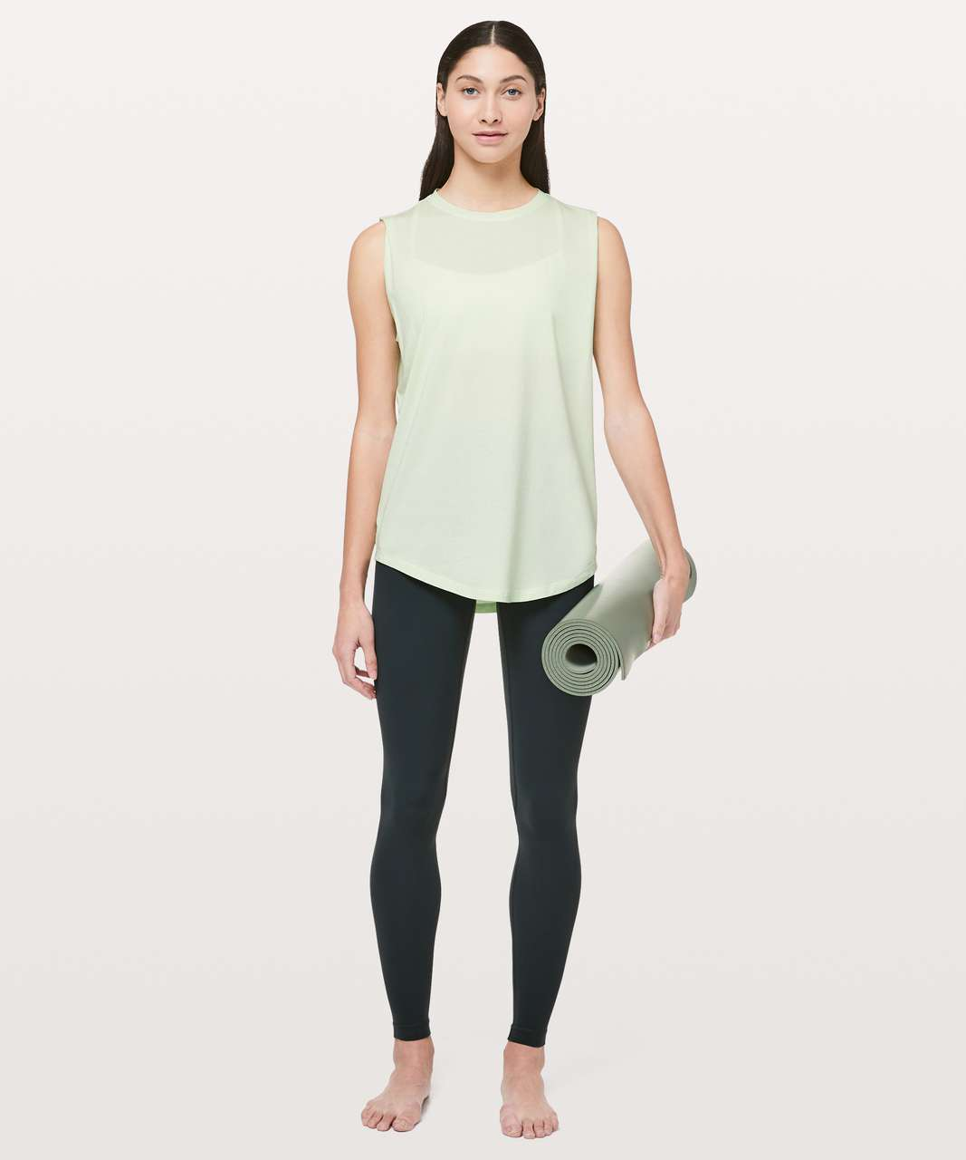 Lululemon Brunswick Muscle Tank - Citrus Ice