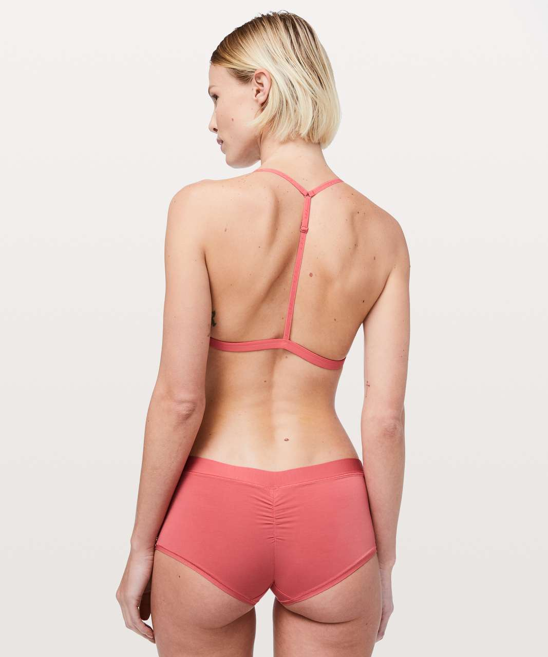 Lululemon Simply There Triangle Bralette - Blush Coral