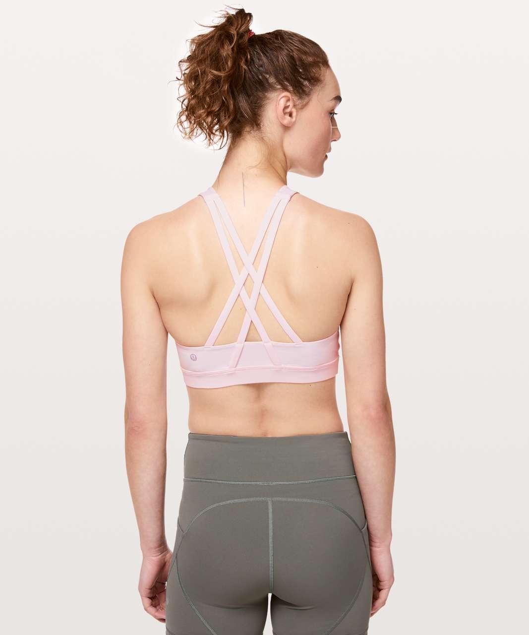 Lululemon Energy Bra *High Neck - Pink Glow