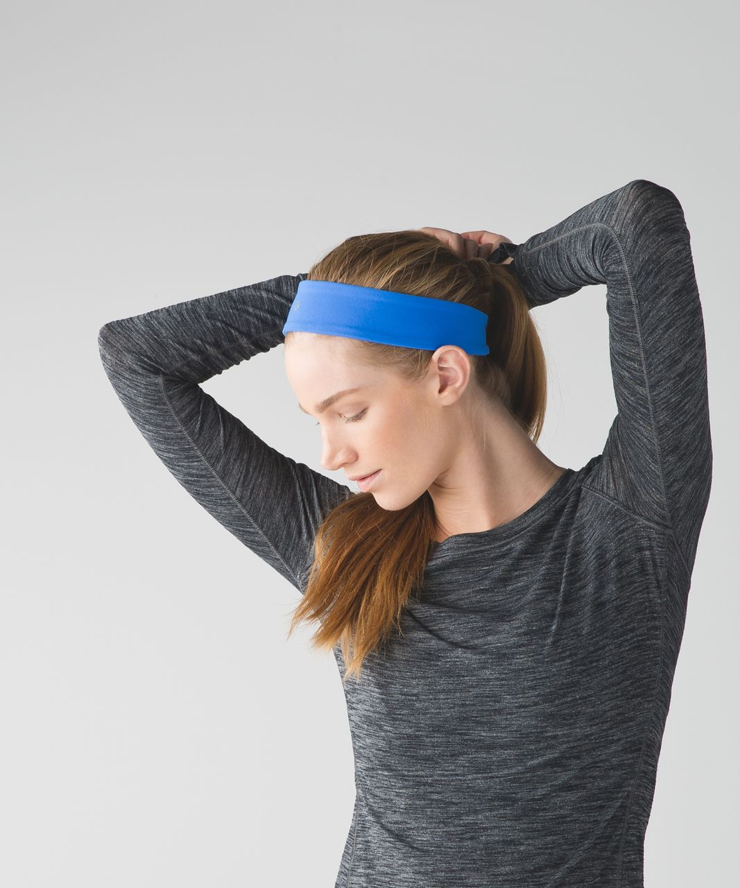 Lululemon Fly Away Tamer Headband 2.0 - Pipe Dream Blue