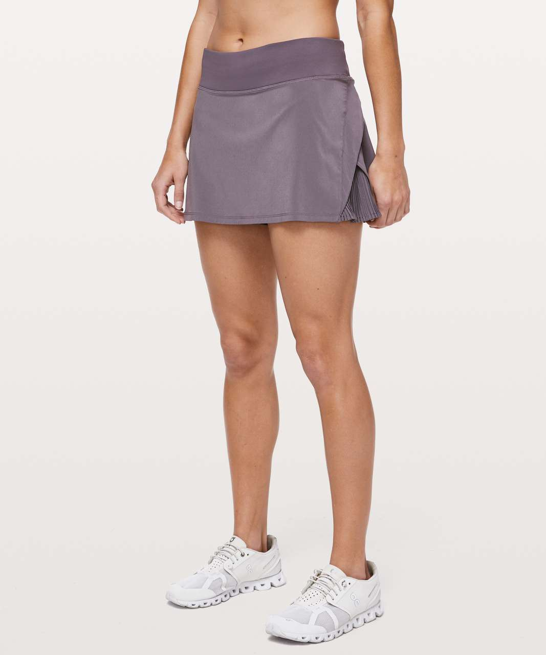 "Lululemon Play Off The Pleats Skirt *13"" - Graphite Purple"
