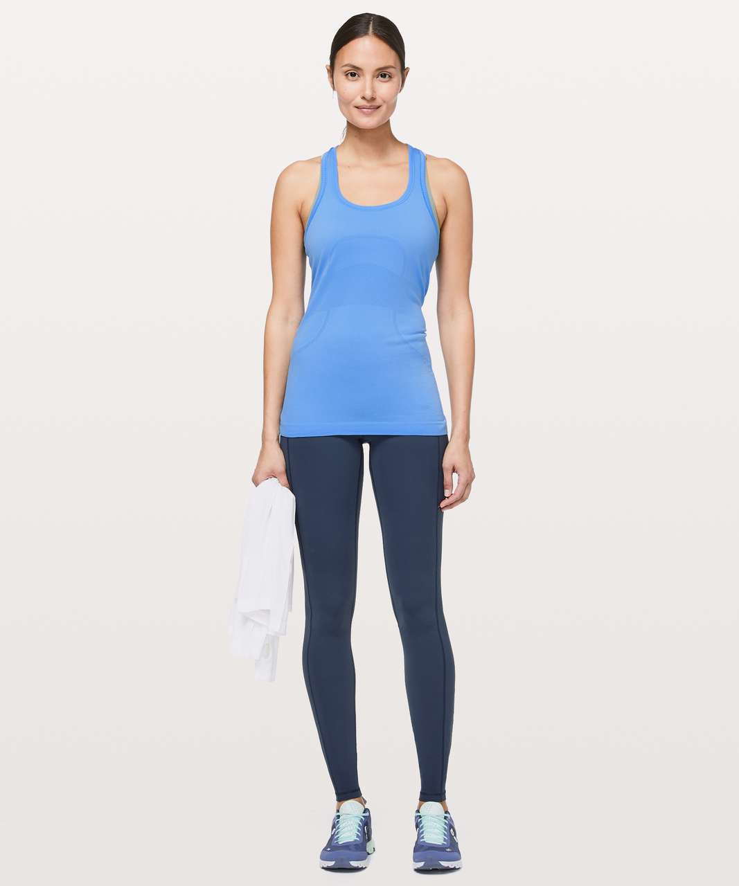 Lululemon Swiftly Tech Racerback - Brisk Blue / Brisk Blue