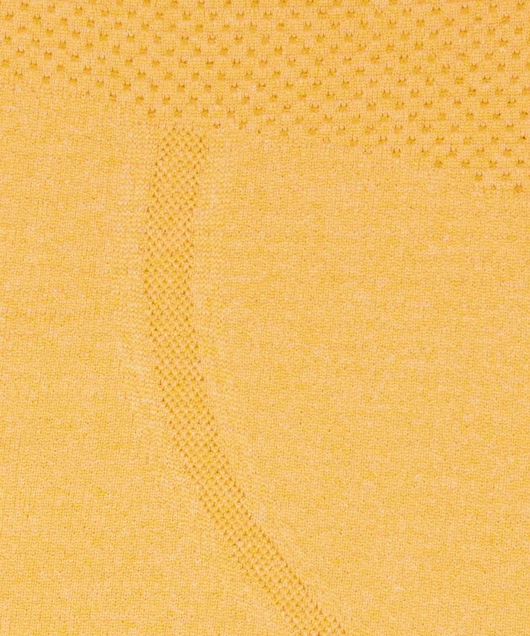 Lululemon Swiftly Tech Racerback - Honey Lemon / White