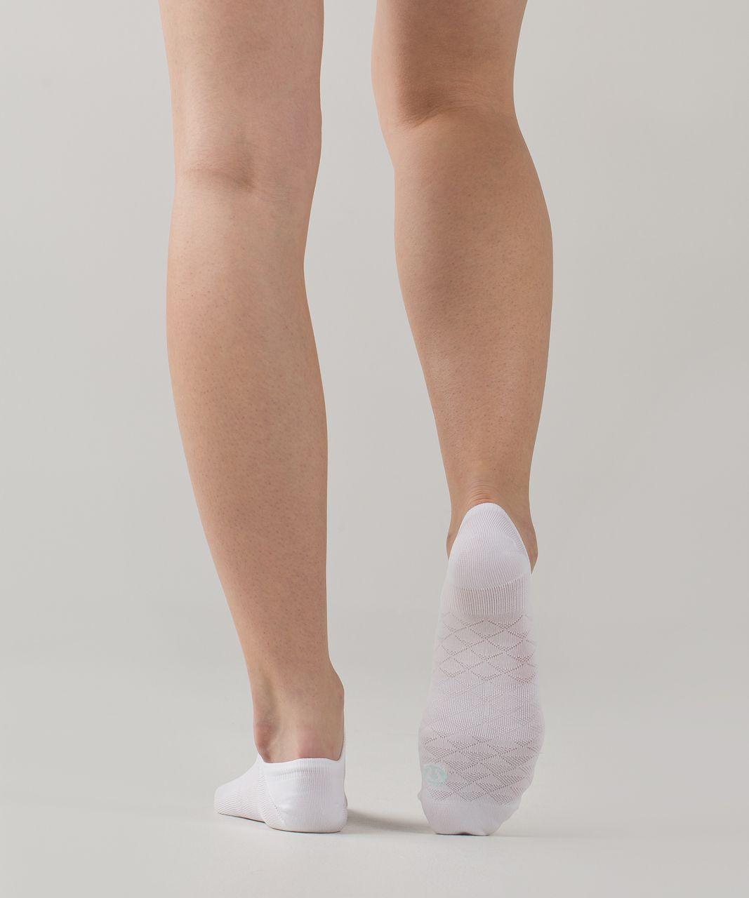 Lululemon Play All Day Sock - White / Sea Mist