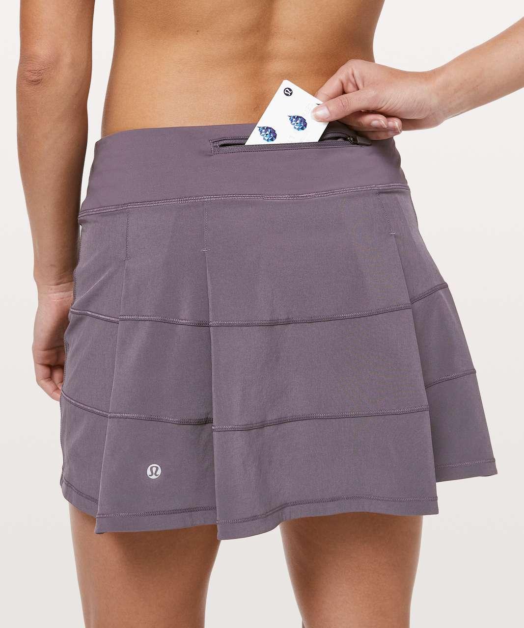 "Lululemon Pace Rival Skirt (Tall) *4-way Stretch 15"" - Graphite Purple"